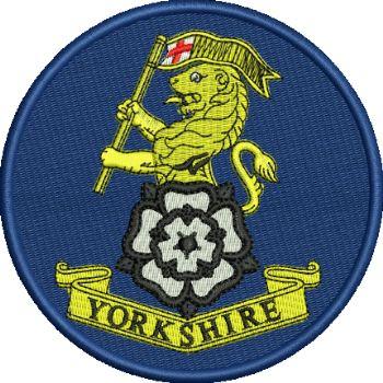 Yorkshire Regiment Embroidered Badge